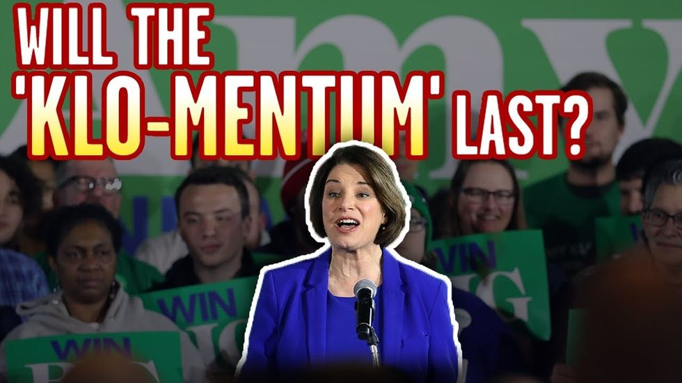 image for AMY KLOBUCHAR: Will the New Hampshire 'Klo-mentum' Keep Up for 2020 Demo...