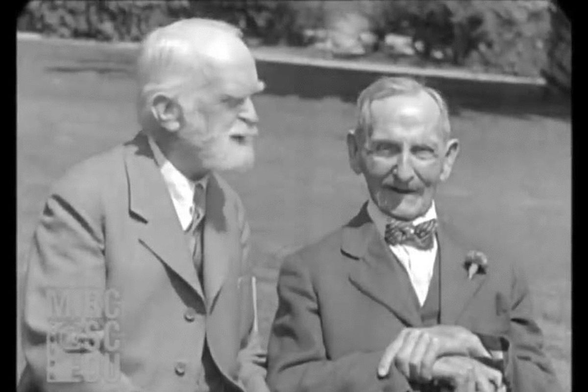 1929 interview with a 92-year-old man offers a remarkable glimpse into a bygone era
