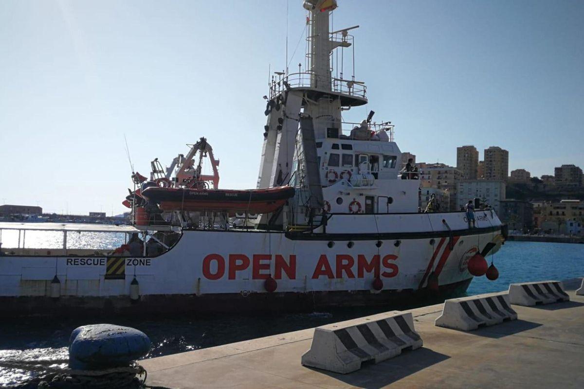 Per il Capitano si avvicina la grana Open Arms