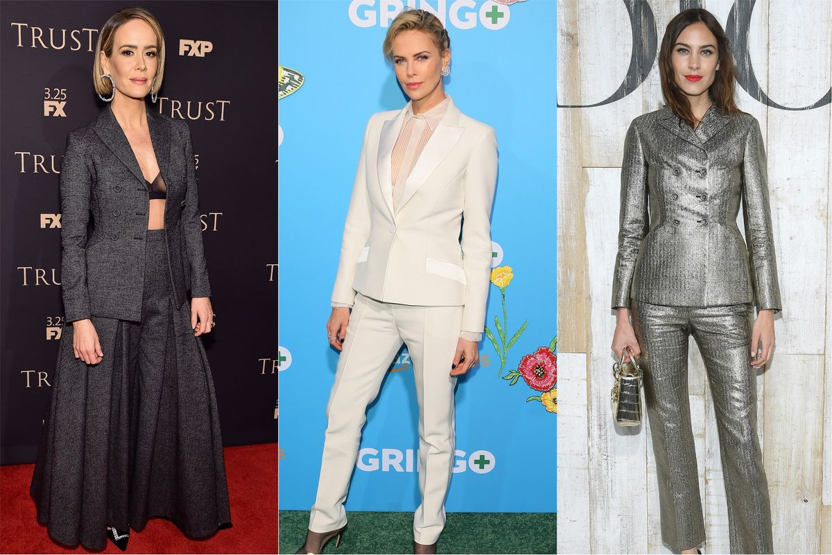 Celebs Still Wear Dior's Iconic Bar Jacket 73 Years Later