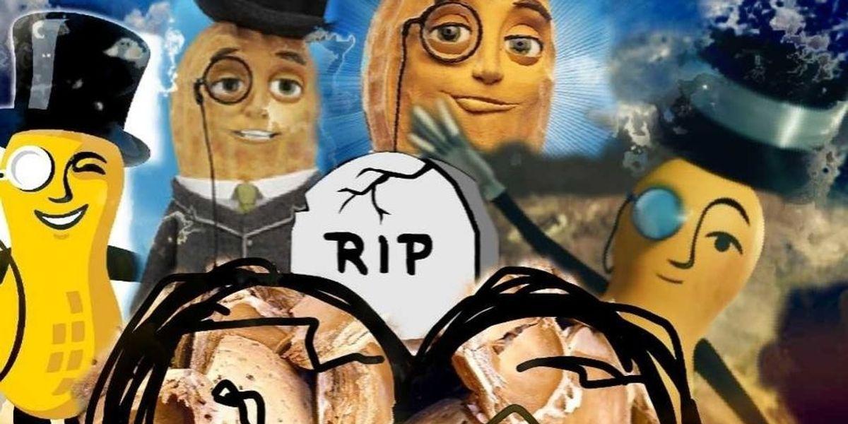 Did Mr. Peanut, a Gay Cannibal, Kill Himself?