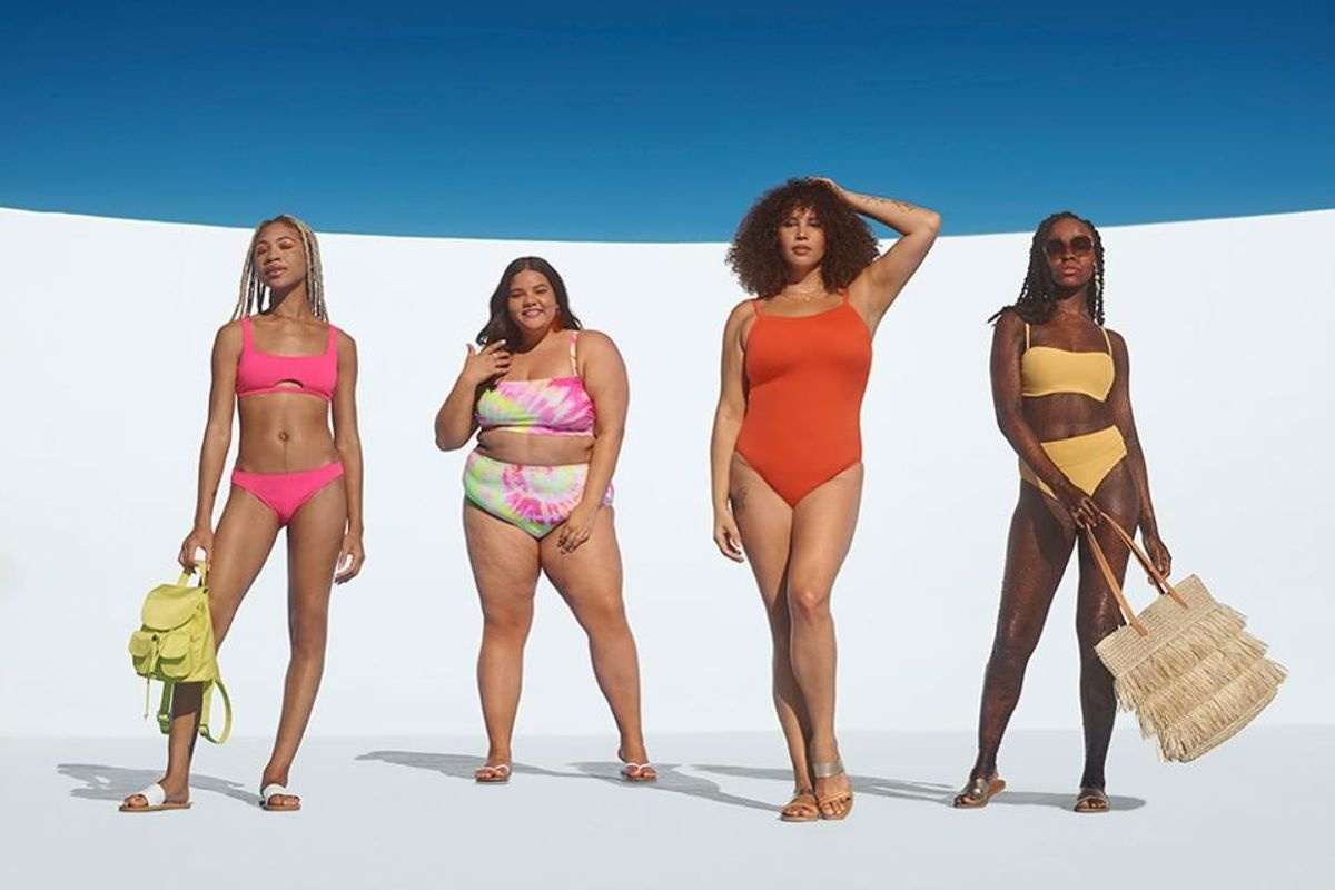 Target's new swimwear line features a diverse group of models, proving all bodies are beautiful