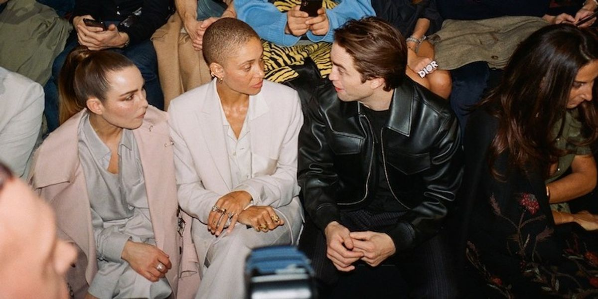 Adam Bartoshesky's Photo Diary Of The Dior Men's Show Includes A Chatty Robert Pattinson