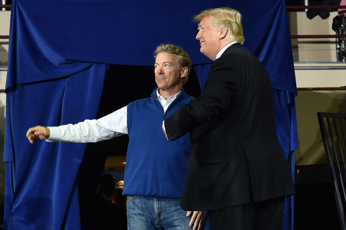 Sen. Rand Paul invites President Trump to be his guest at Democrats' impeachment 'charade'