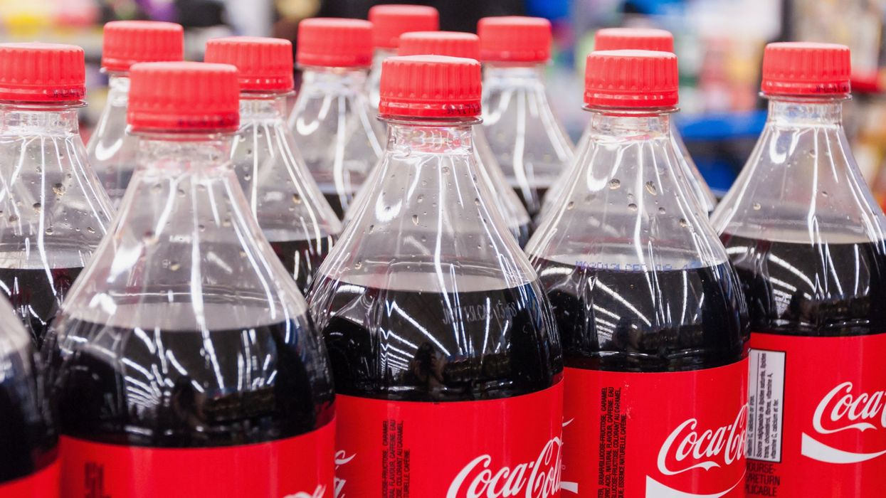 Coca-Cola Says It Won't Break Free From Plastic Bottles