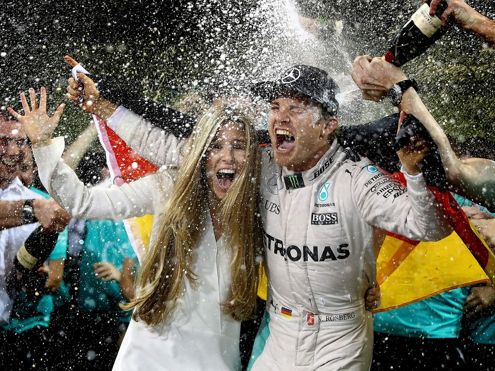 Nico Rosberg 2016 F1 Champtionship