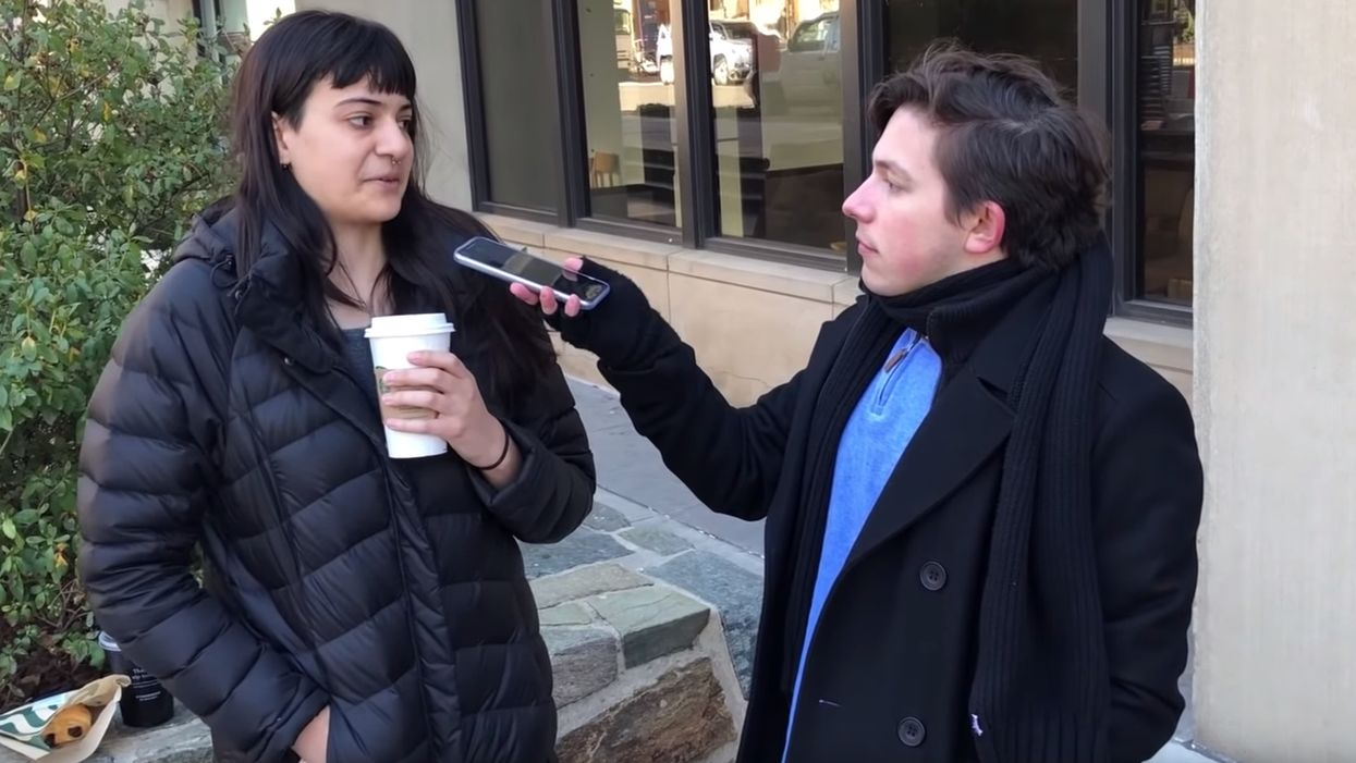 VIDEO: Majority of students interviewed say they support abortions up to birth