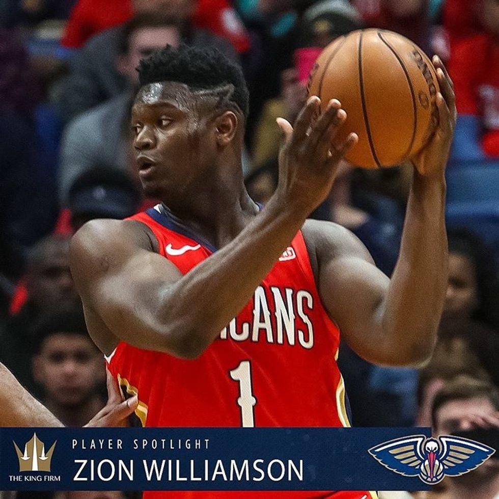 Zion's Made His NBA Debut And He Started Off With A Bang