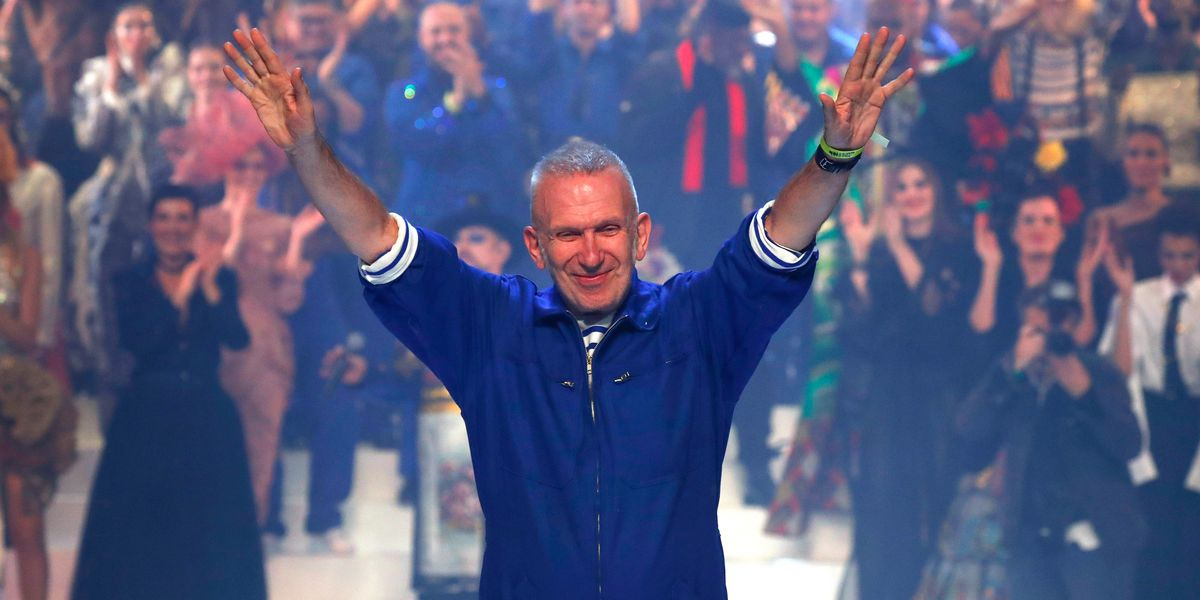 Jean Paul Gaultier Had the Biggest Standing Ovation For His Final Show
