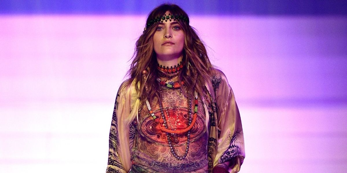 Paris Jackson Made Her Couture Runway Debut At Jean Paul Gaultier's Final Show