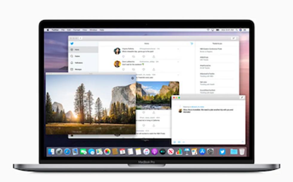 The Apple MacBook Pro laptop
