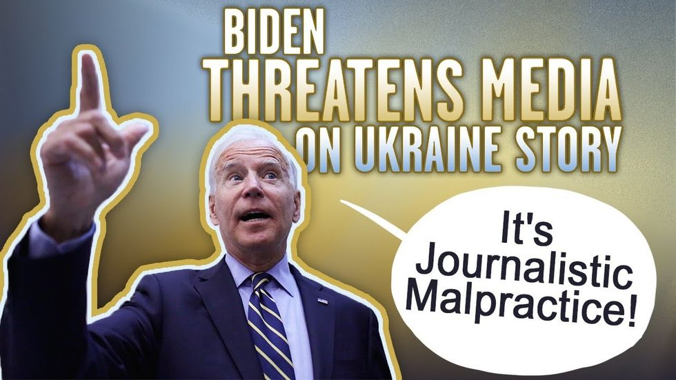 Partner Content - JOE BIDEN CAMPAIGN: Threatens journalists to deny corruption in Ukraine,...