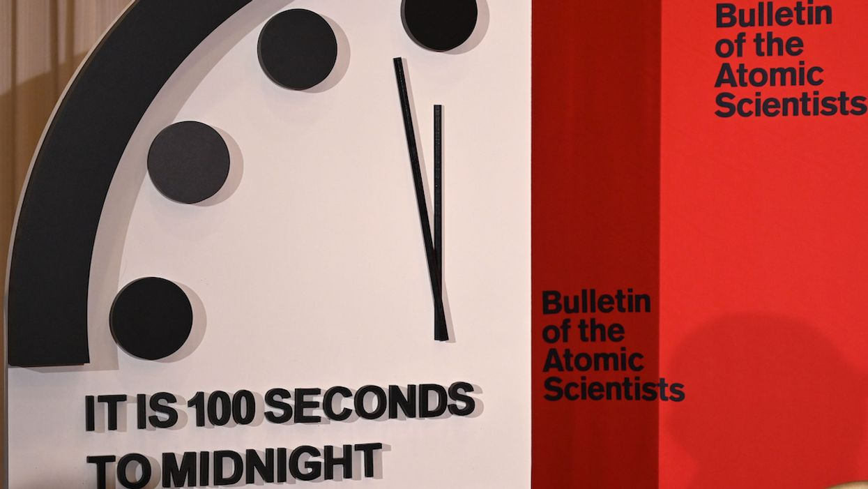Doomsday Clock Moves to 100 Seconds Before Midnight Due to Threats of Nuclear War and Climate Change