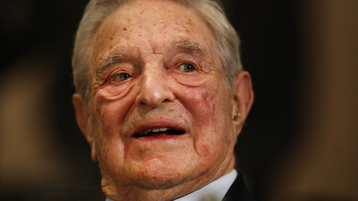 George Soros accuses Facebook of conspiring with President Trump to secure his re-election