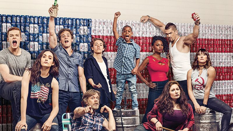 The cast of TV show Shameless.