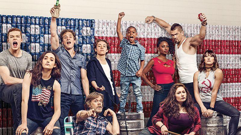The cast of TV show Shameless.