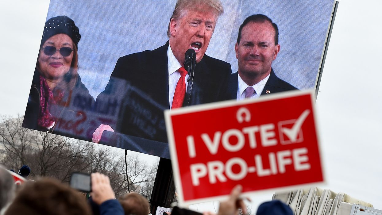 Twitter put a 'sensitive content' warning on a pro-life video tweeted by the Trump campaign