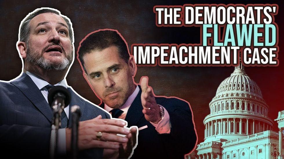 Partner Content - TED CRUZ ON TRUMP IMPEACHMENT TRIAL: Democrat case relies solely on Hunt...