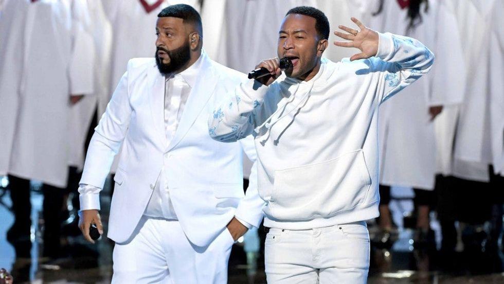 DJ Khaled and Usher