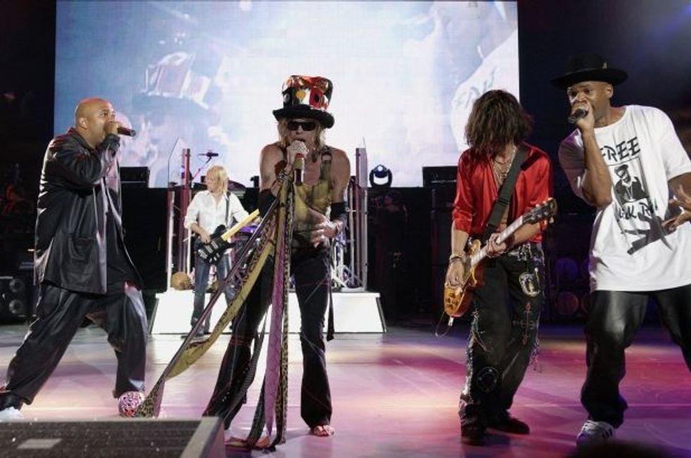 Aerosmith and Run-D.M.C.