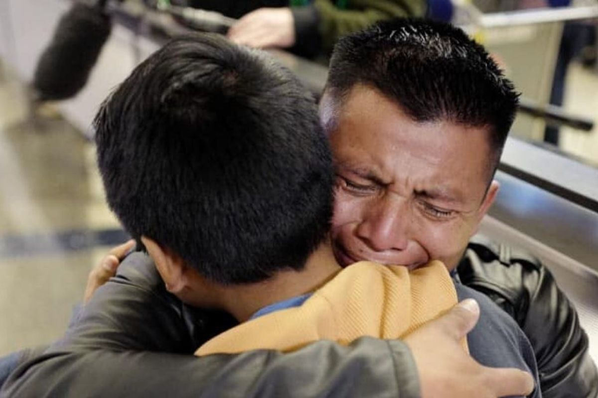 Parents separated from their kids in 2018 finally reunited on judge's orders. It's 18 months too late.