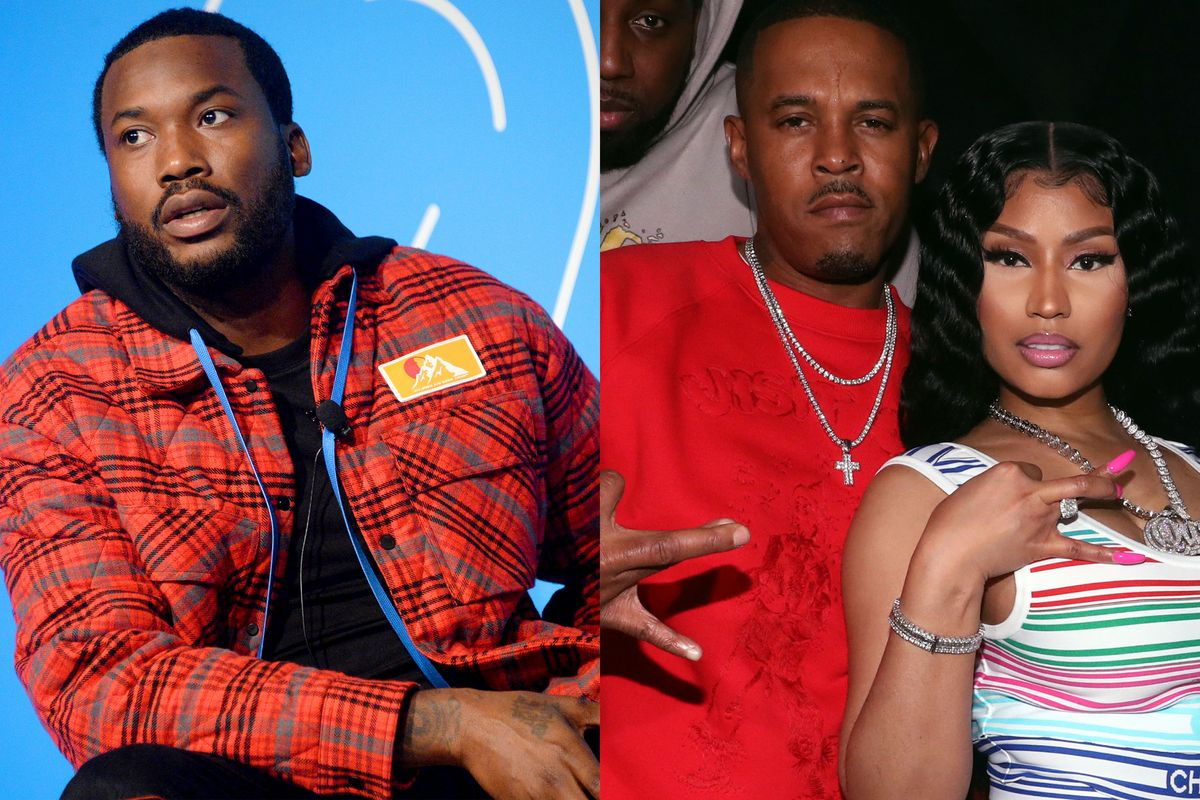 Meek Mill Reportedly Has Heated Argument with Nicki Minaj's Husband