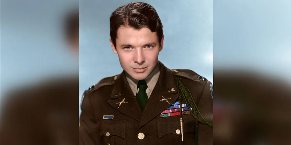 75 years ago, Audie Murphy earned his Medal of Honor with nothing but a burning tank destroyer's .50 cal and ...