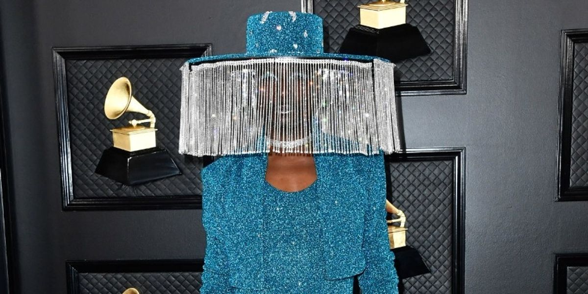 Billy Porter's Grammys Hat Has Its Own Remote Control
