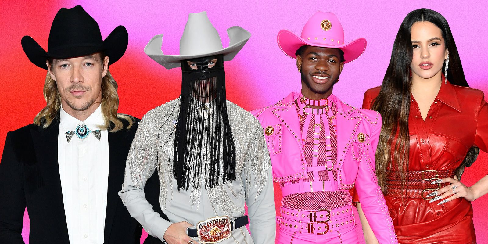 All The Yeehaw Fashion At The 2020 Grammys, Ranked
