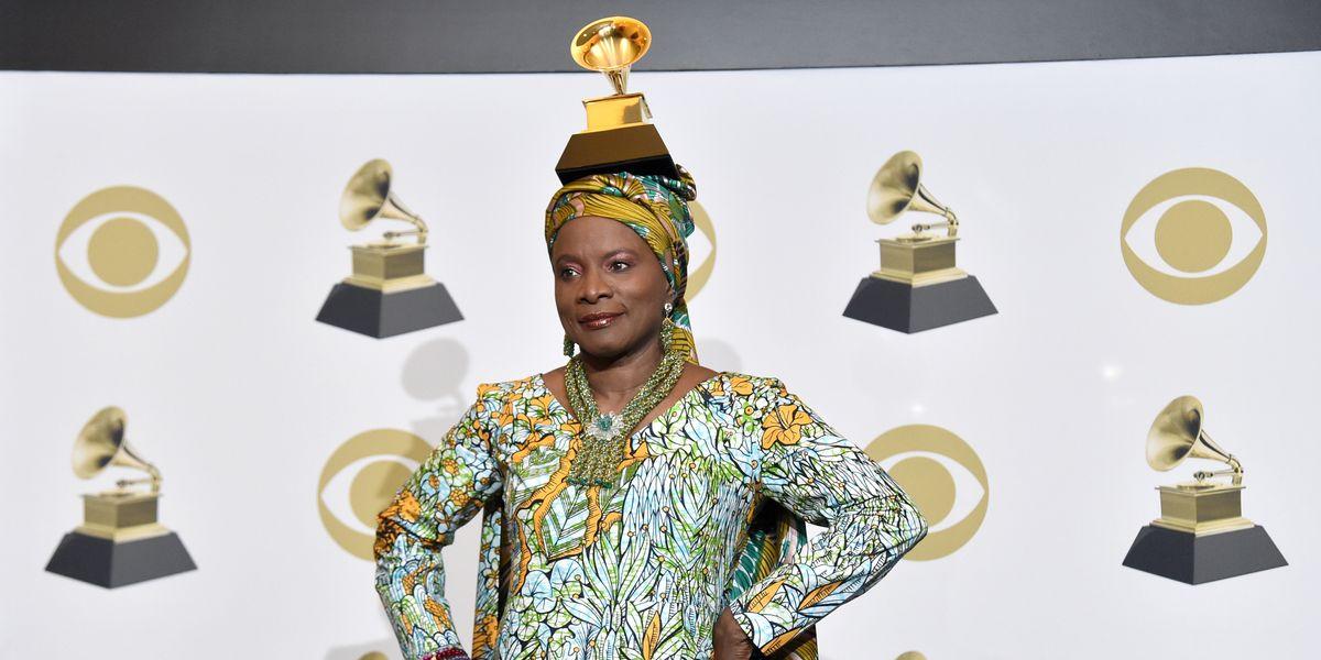 Angélique Kidjo Dedicated Her 'Best World Music' Grammy to Burna Boy