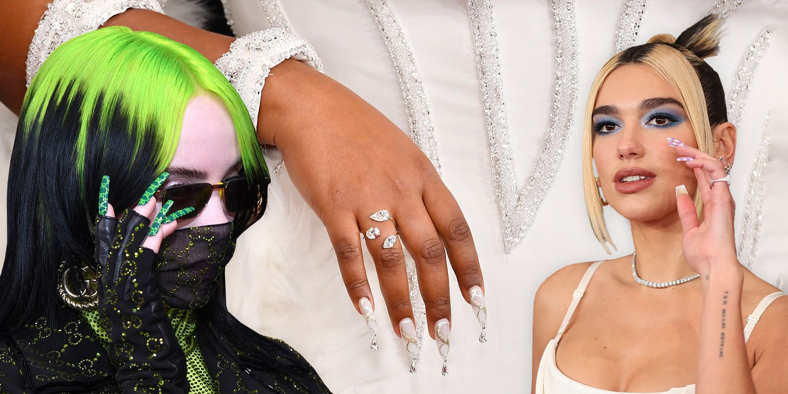 The Best Grammys Nails Included Logos, Crystals, And A Kobe Bryant Tribute