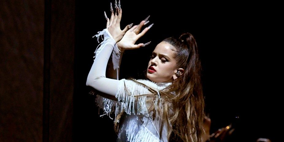 Rosalía Brought Flamenco To The Grammys Stage For Her Debut Performance