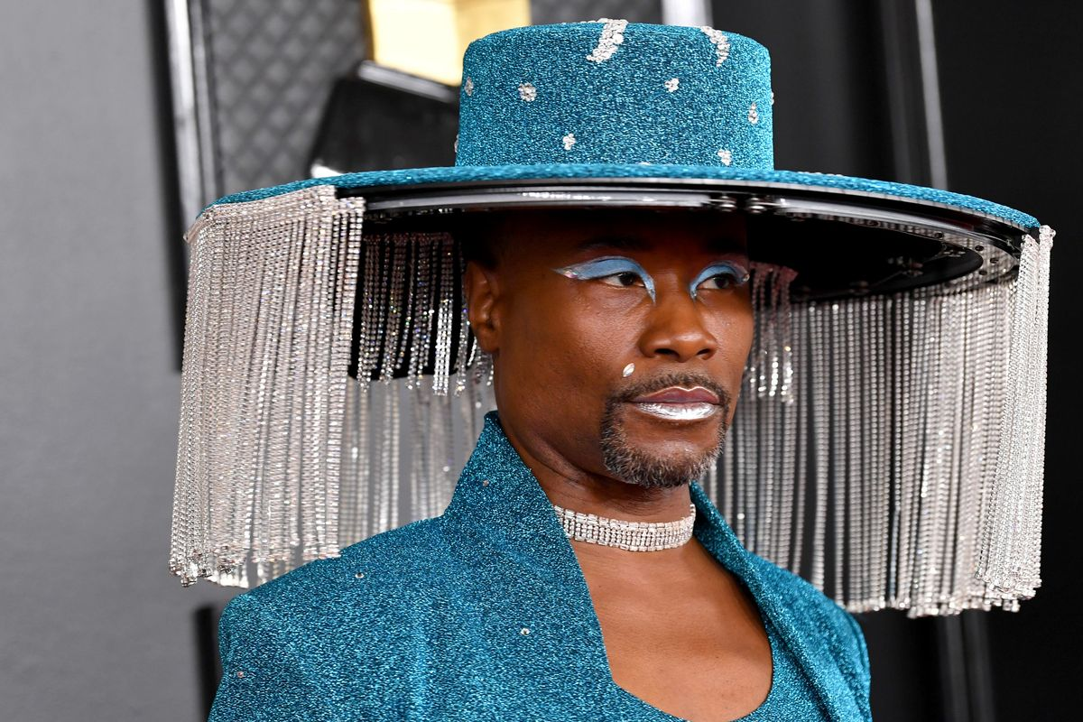 Billy Porter's Mechanical Hat Deserved a Grammy