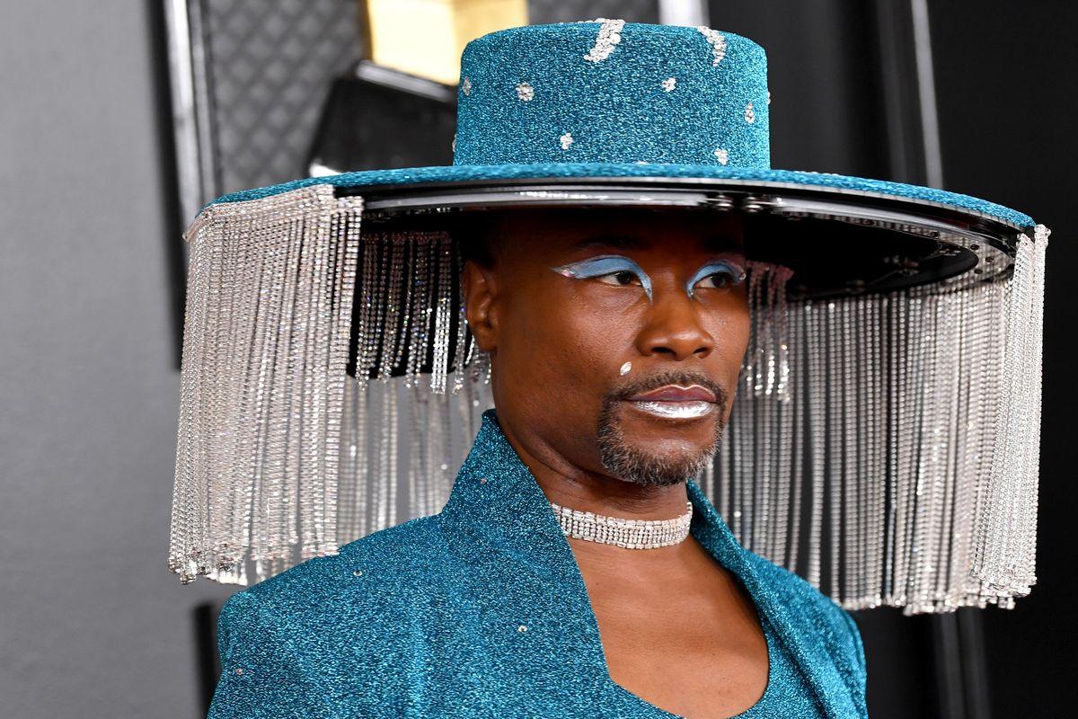 Billy Porter's Mechanical Hat Deserved a Grammy