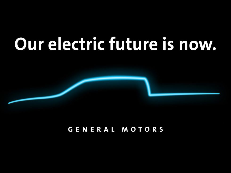 General Motors Electric Truck teaer plant 2021
