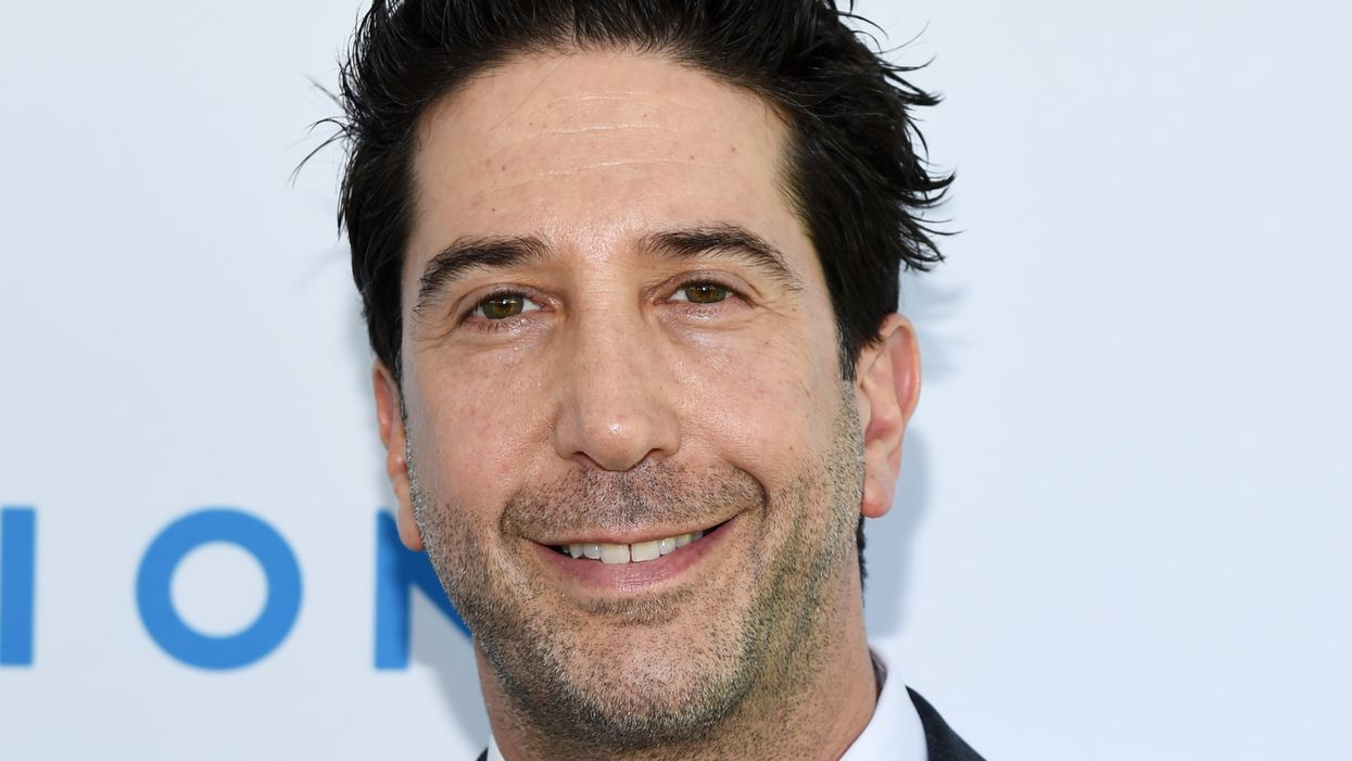 'Friends' actor David Schwimmer says he's 'very aware' of 'privilege as a heterosexual white male,' says ...