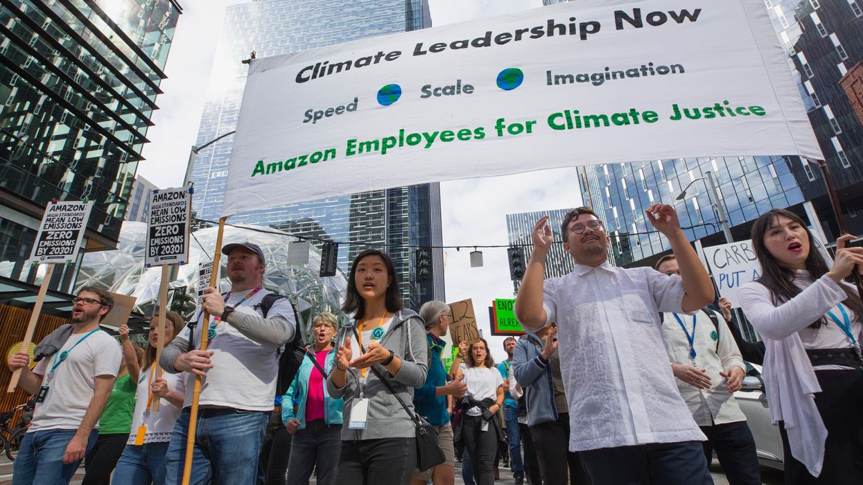 Amazon Employees Risk Jobs to Protest the Company's Climate Policies