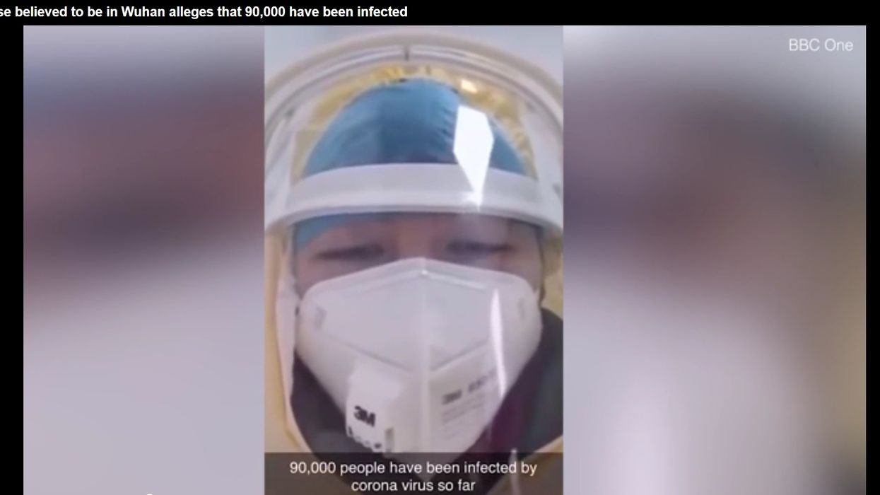 'Do NOT go outside': Nurse in China issues warning, claims up to 90,000 already infected with coronavirus