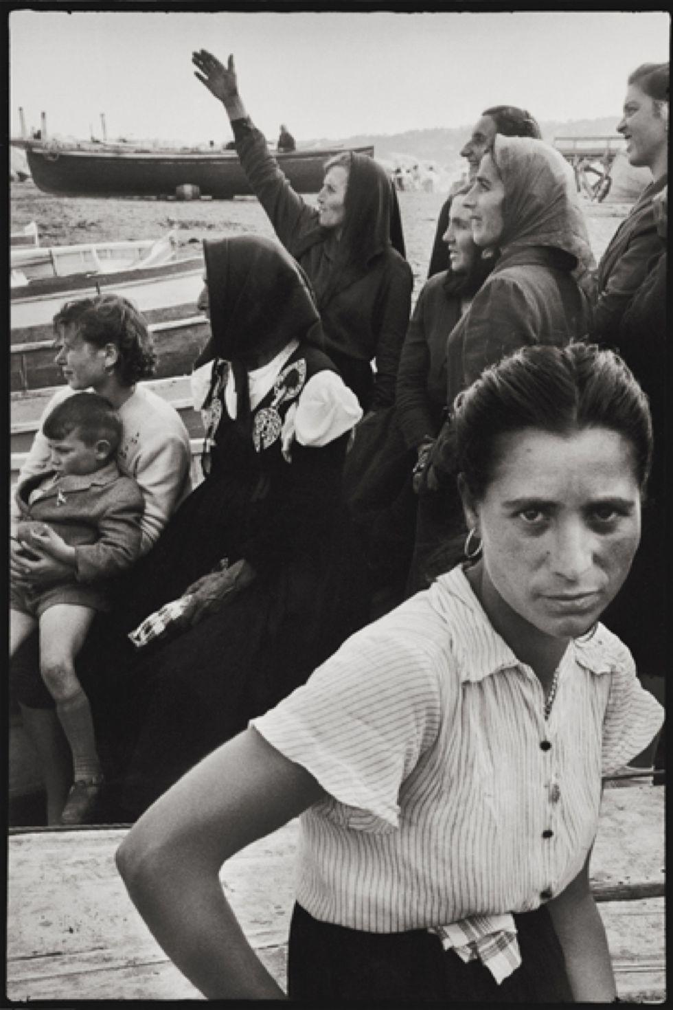 Leonard Freed, Napoli, 1956