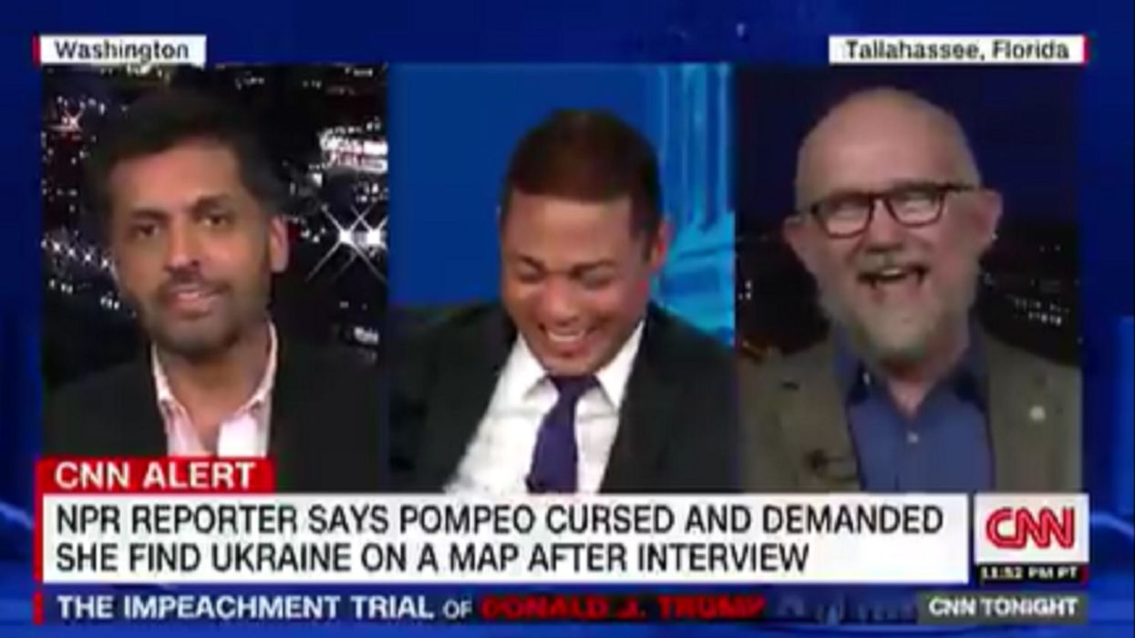 Watch: CNN's Don Lemon laughs until he cries as pundits portray Trump supporters as stupid hicks