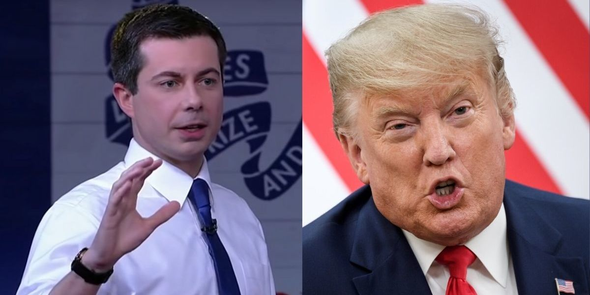 Pete Buttigieg Applauded After Calling Out Trump For 'Echoing The Vocabulary Of Dictators' At Fox News Town ...