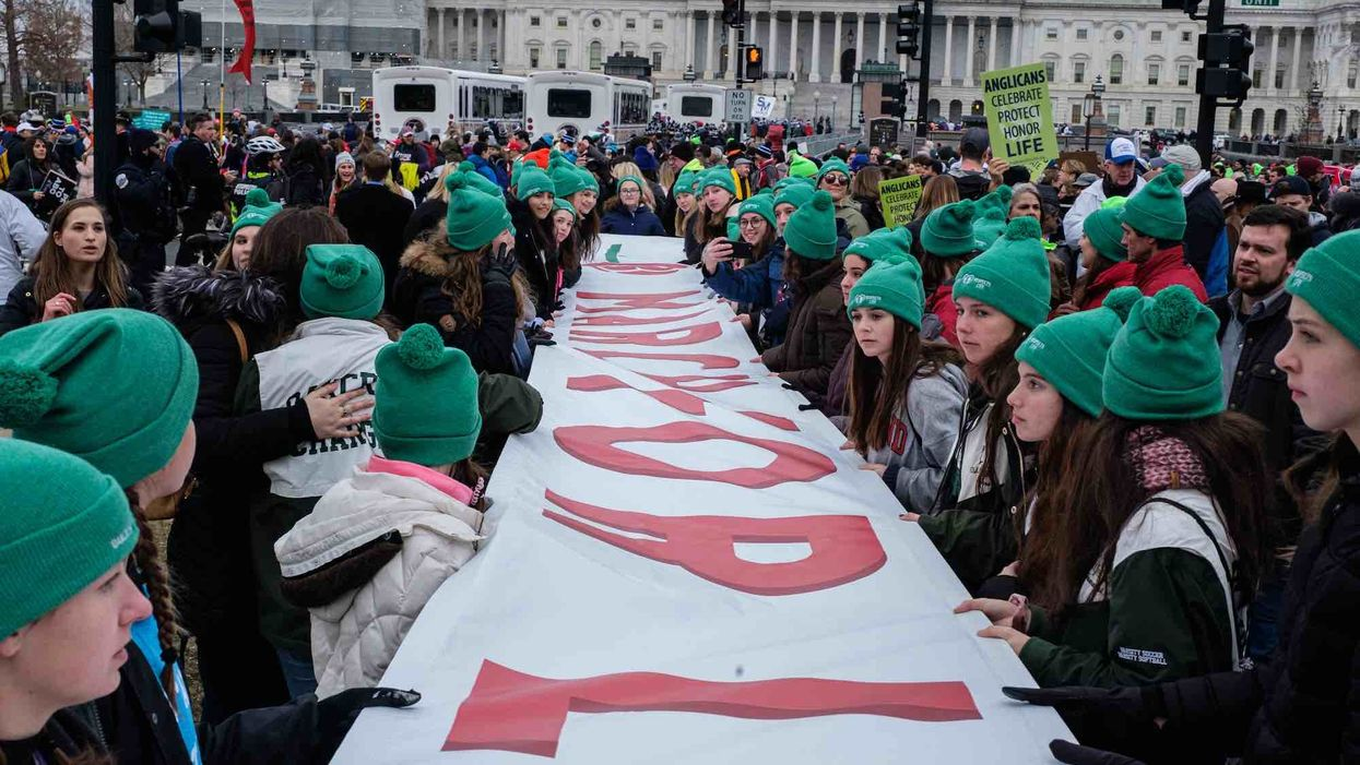 'They are the abortion lobby's worst nightmare': Youth movement dominates March for Life