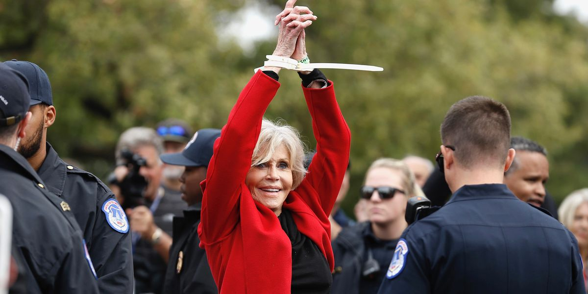 How Jane Fonda has turned to climate activism in her 80s