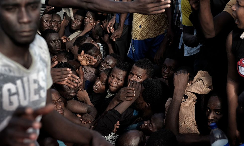 Naufragio migranti nel Mediterraneo