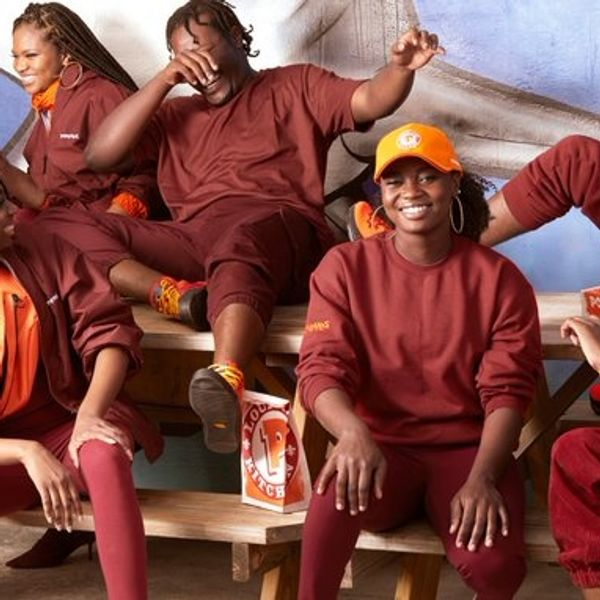 The Popeyes Clothing Line Looks... Familiar