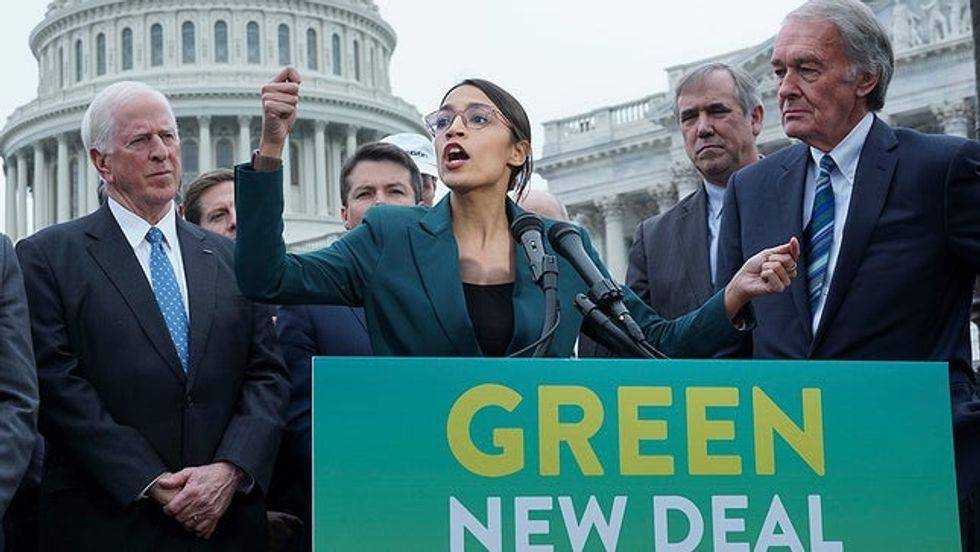 Alexandria Ocasio Cortez Green New Deal