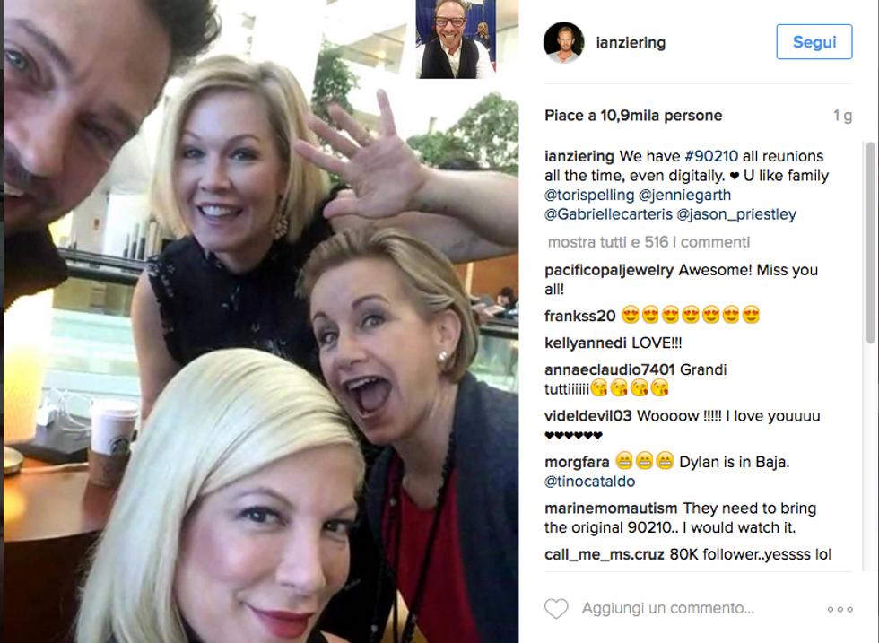 Donna, Kelly, Andrea e Steve insieme per Brenda