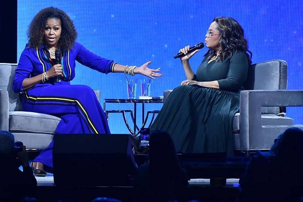 Michelle Obama opens up to Oprah about her new 'empty-nester' life with Barack