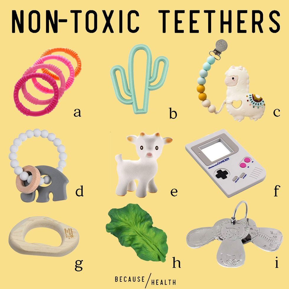 9 Non-Toxic Teethers