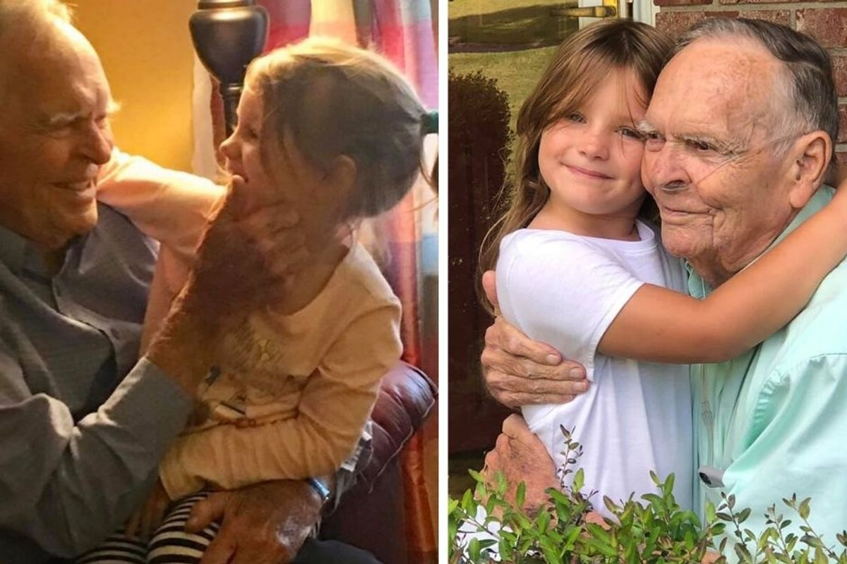 Here's to Mr. Dan, the widower whose sweet friendship with a 4-year-old won all of our hearts